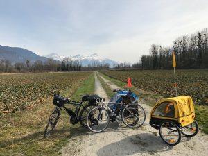 Week End Minicaf : Ski et 40Kms Vélo