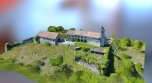 Chateau des Allinges 3D