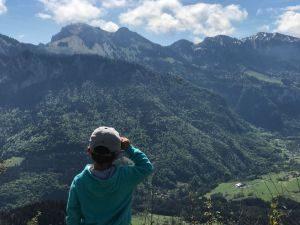 A la traversée du Mont d'Hermone