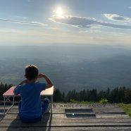 Nuitée au sommet du Semnoz – 1650m – 062019