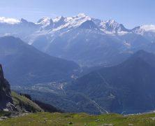 Vol face au Mont Blanc au Desert de Platé – 082019
