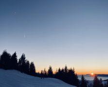 Coucher de Soleil en ski – 122019