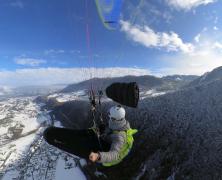 Sun, Flight and Snow – Orcier – 122020