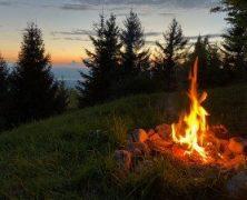 Pointe de Miribel – Nuitée à Tré-Le-Mont – Mont Forchat et Vue du Ciel au Coucher – 052018