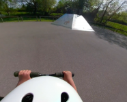 Session avec Esteban au Skatepark de Thonon – 360° – 042018