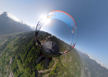 1er Vol en Solo – Parapente – Samoens – Vue à 360° – 042018