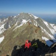 Dôme des Glaciers par l'arête des Lanchettes – 3592m – 072016