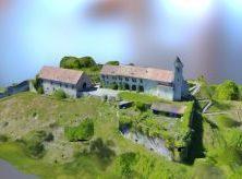 La Chapelle d'Hermone et le Chateau des Allinges en 3D – 052017