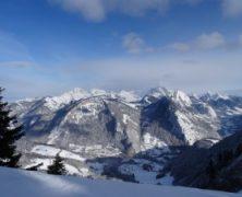 Dernière sortie ski de 2014 – Pointe de la Croix 1816m – 122014