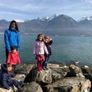 Les Vacances scolaires … à 6 – Vues du ciel et du sol ! – 032017