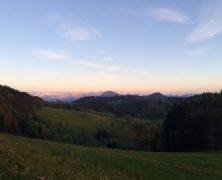 Vue du ciel : Pointe de Miribel et escalade vue du ciel au Rocher Blanc à Plaine-Joux – 062014