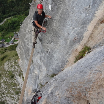 Via Ferrata St Jean dAulps - Tete de lelephant - 092011